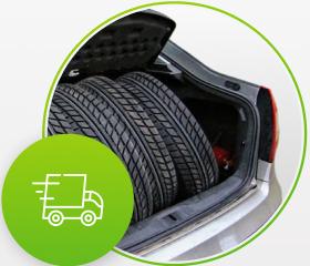Возможность оперативно забрать шины с хранения